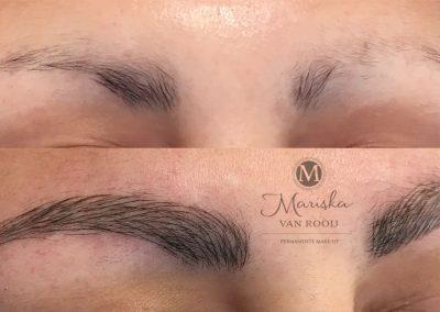 Microblading alopecia Mariska van Rooij permanente make-up