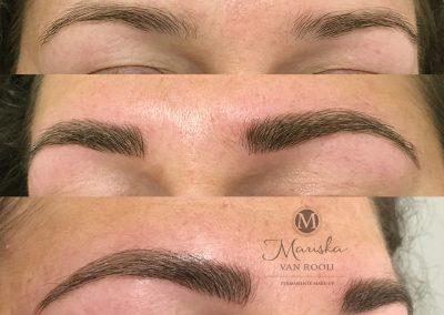 Microblading naturel Mariska van Rooij permanente make-up