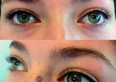 eyeliner boven