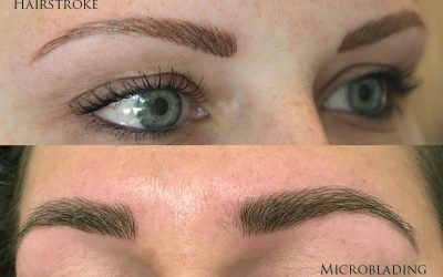 Microblading VS Hairstroke